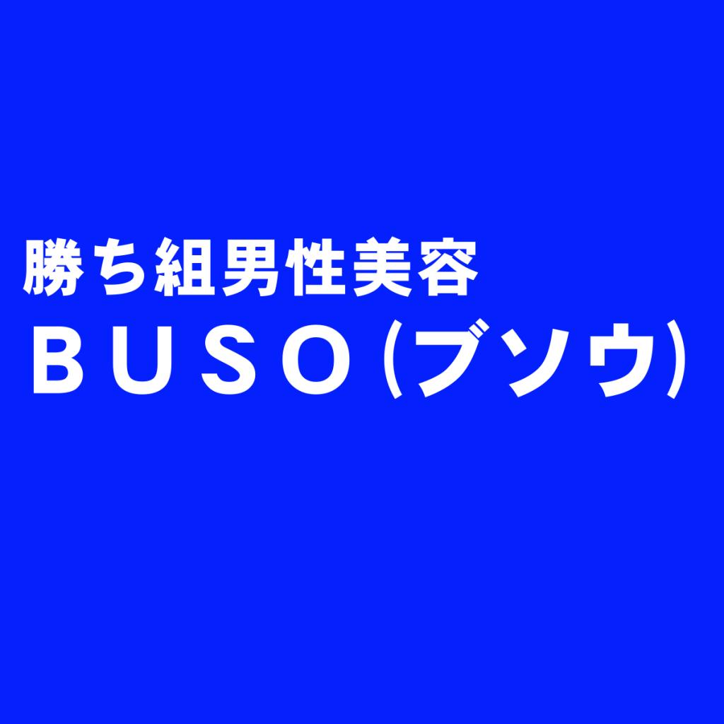男性スキンケア美容洗顔石鹸『BUSO(ブソウ)』の評判
